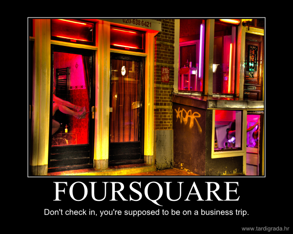 Foursquare in the Red Light District